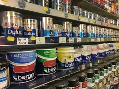 Dulux and Crown paint-mixing service available in-store
