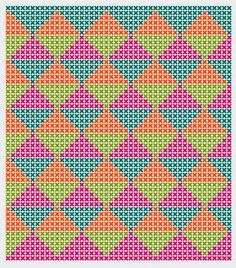 Risultati immagini per crochet pattern wayuu bag Tapestry Crochet Patterns, Crochet Stitches Patterns, Stitch Patterns, Knitting Patterns, Bag Crochet, Crochet Purses, Crochet Chart, Knooking, Fillet Crochet