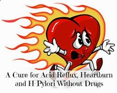 Always Learning: A Cure for Acid Reflux Heartburn and H-Pylori Without Drugs