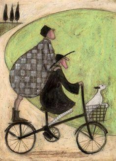 Double-decker bike~ Sam Toft