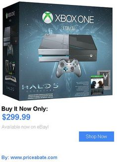 Video Gaming: Xbox One 1Tb Console Halo 5 Guardians Bundle New BUY IT NOW ONLY: $299.99 #priceabateVideoGaming OR #priceabate