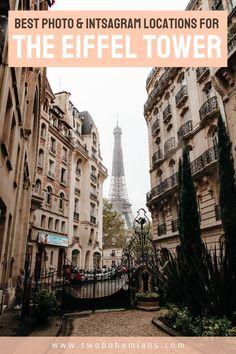 Paris France Travel, Paris Travel Guide, Eiffel Tower Photography, Paris Photography, Paris Itinerary, Best Instagram Photos, Travel Advise, Photo Location, Trips