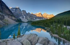 Lake Moraine, Banff National Park (Alberta, CA)