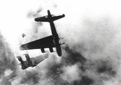 """'When the big bomb-bay doors were opened? The ack-ack and pom-poms were filling the sky around us already, and we could hear the big shells rumble on the outside of our ship as we turned on course.""""World War 2: Bomber Tail-Gunner Story 