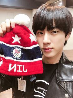 "180310 Seokjin's Tweet "" Thank you """