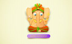 Cute Lord Ganesha HD Wallpaper Ganesha, God, Lord, HD, Wallpapers, Images, High Quality, Photos, Art, Pictures, Amazing, 3D, Beautiful, Nice