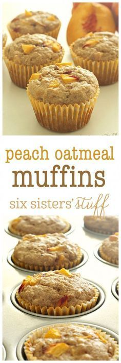 Oatmeal Muffins Peach Oatmeal Muffins from Made these this morning and they are SO yummy!Peach Oatmeal Muffins from Made these this morning and they are SO yummy! Breakfast Desayunos, Breakfast On The Go, Breakfast Recipes, Breakfast Ideas, Breakfast Pictures, Breakfast Healthy, Breakfast Cupcakes, Brunch Recipes, Avacado Breakfast