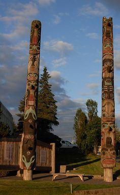 Petersburg, Alaska totem poles
