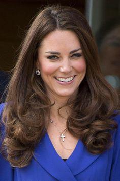 Duchess of Cambridge #katemiddleton. Duchess Kate is smiling.