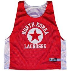 North Korea Lacrosse Pinnie