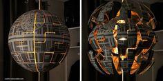 Wie man eine IKEA-Lampe cool bemaltHänge den Todesstern in dein ZimmerEine geniale Idee für alle Star-Wars-Fans