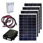 Grape Solar 400-Watt Off-Grid Solar Panel Kit GS-400-KIT at The Home Depot - Mobile