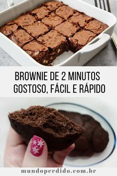 Easy Smoothie Recipes, Snack Recipes, Dessert Recipes, Brownie Cookies, Coconut Recipes, Ice Cream Recipes, Sweet Recipes, Delicious Desserts, Good Food