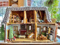 Dvojnásobná mama pečie kompletne vybavené perníkové chalúpky - Akčné ženy Gingerbread House Parties, Christmas Gingerbread, Gingerbread Houses, Cookie House, Christmas Cooking, Let Them Eat Cake, Bird Houses, Crafts, Food