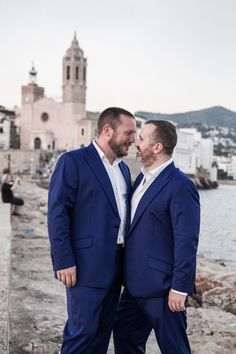 Sitges, Gay, Suit Jacket, Wedding, Valentines Day Weddings, Jacket, Weddings, Marriage, Suit Jackets