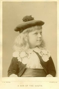 """ATLANTA PHOTOGRAPHER - C.W. MOTES, """"A SON OF THE SOUTH"""" IS THE TITLE OF THIS CABINET PHOTOGRAPH. DATED 1889 ON THE BACK. From the J. Fred Rodriguez Atlanta Collection."""