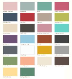 Country Chic Paint Colors Chalk Paint, cheaper alternative to Annie Sloan Chalk Paint
