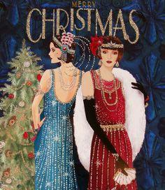Art Deco Lady... Новогоднее.... Обсуждение на LiveInternet - Российский Сервис Онлайн-Дневников