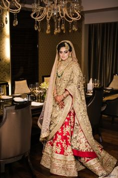 Red and gold lehenga bridal Gold Lehenga Bridal, Pakistani Wedding Dresses, Best Wedding Dresses, Wedding Lehanga, Wedding Bride, Bridal Dupatta, Wedding Ideas, Desi Wedding, Pakistani Suits