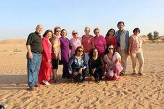 Foto grupal en desierto de la India!