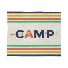 Bring your nostalgic memories of campfire ghost stories and lake swims to the comfort of your living room couch with this charming throw blanket. Cozily made from 100 percent polyester fleece with 365-...  Find the Sleepaway Camp Throw Blanket, as seen in the The Outdoor Outfitter Collection at http://dotandbo.com/collections/holiday-boutiques-the-outdoor-outfitter?utm_source=pinterest&utm_medium=organic&db_sku=112145