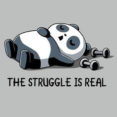 Get comfortable in hundreds of cute, funny, and nerdy t-shirts. TeeTurtle has the perfect super soft shirt to make you smile! Niedlicher Panda, Panda Art, Panda Love, Big Panda, Panda Wallpapers, Cute Wallpapers, Cute Animal Drawings, Cute Drawings, Cute Panda Drawing