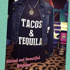 #tacosandtequila  Come on out this beautiful day and check out all our new tanks we just got in!! #rodeo #cutetanks #weekend #feelright #weship