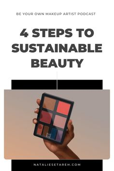 """There is a massive impact on the earth from hard-to-recycle cosmetic packaging, as well as ingredients in the products that aren't just harmful to the planet (particularly aquatic and marine life) but also to us! It really all comes down to self-regulation and making """"cleaner"""" choices can help preserve us and the earth. Easy Makeup Tutorial, Makeup Tutorial For Beginners, Gifts For Makeup Lovers, How To Wear Makeup, Power Of Makeup, Makeup Needs, Self Regulation, Cosmetic Packaging, Drugstore Makeup"""