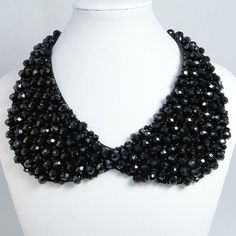 Sparkling Crystal Peter Pan Collar Necklace by BellaJewelry4u, $15.99
