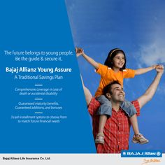 Every child has the potential to make a difference. Show them the way with Bajaj Allianz Young Assure, A Traditional Savings Plans. #JiyoBefikar