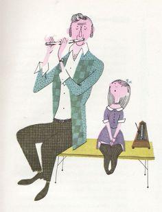 Image result for 60's children's book illustration