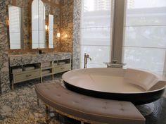 Bathroom, designed by David Collins Studio