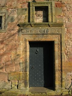 Image detail for -Rosslyn castle 11 the front door Amazing Architecture, Architecture Design, Rosslyn Chapel, Cool Doors, Scottish Castles, Closed Doors, Doorway, Pathways, Manor Houses