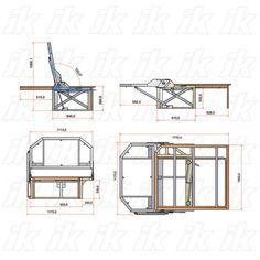 Resultado de imagen de vw t3 bed plans