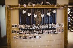 Rustic Stylish Great Fosters Wedding Photo Wall Frame  http://karenflowerphotography.com/