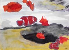 Emil Nolde (1867-1956)   Coral fish and sea anemones   20th Century, Drawings & Watercolors   Christie's
