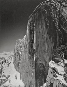 Bid now on Monolith, The Face of Half Dome by Ansel Adams. View a wide Variety of artworks by Ansel Adams, now available for sale on artnet Auctions. Famous Photographers, Landscape Photographers, Stunning Photography, Nature Photography, Urban Photography, Color Photography, Creative Photography, Photography Lighting, Photography Lessons