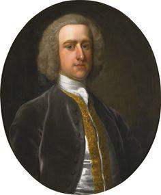 c. 1750 Portrait of Sanderson Miller by Rev. James Wills sold at Sotheby's