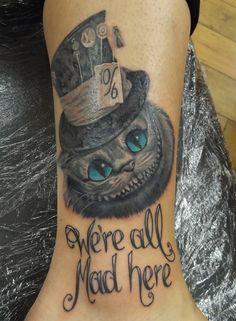 small cheshire cat tattoos - Sök på Google