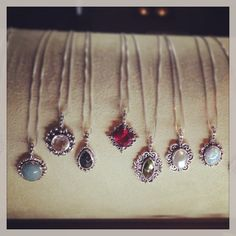 Bonn Bon birthstone necklace. #jewelry #vancouver