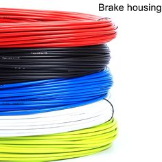 BLUE Cable /& Housing BRAKE CABLE Casing Bicycle Universal BIKE Mountain Road BMX