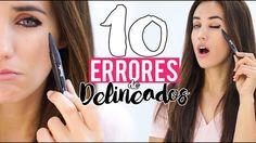 10 errores de maquillaje al delinear los ojos y cómo evitarlos   Patry ... Patri Jordan, Makeup Tips, Make Up, Youtube, Hair Styles, Beauty, Nails, Fashion, Longer Lashes