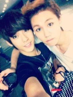 Minhyuk and Ilhoon