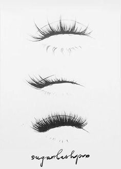How to create natural looking eyelash extensions - Lux Lash Bar -. - How to create natural looking eyelash extensions – Lux Lash Bar – - Eyelashes Drawing, False Eyelashes, Fake Lashes, How To Draw Eyelashes, Permanent Eyelashes, Natural Eyelashes, Eyelashes Grow, How To Draw Eyes, Cluster Eyelashes