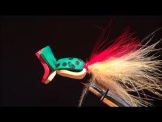 Fly tying - Simple foam popper | Fly Fishing Bass (EN ESPAÑOL)