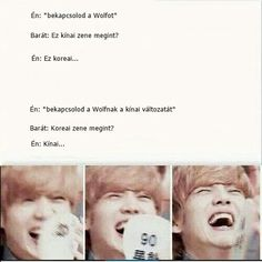 Kpop mémek:p - Bts Memes, Funny Memes, Jokes, Exo K, Korean Music, Chanyeol, Kdrama, Comedy, Lol