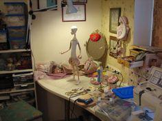 Кукольная мастерская ANNADAN: МАСТЕРСКАЯ, НОВАЯ КУКЛА К МАНЕЖУ