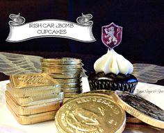 Tyrion - Irish Car Bomb Cupcakes - Guinness Stout and Irish Cream - Game of Thrones Cupcake Series by Booze, Sugar  Spice