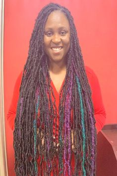 Soft Locs _____________ Hair is included in Many Colors Book onliYou can find Long braids and more on our website.Soft Locs _____________ Hair is included in Many Col. Long Braids, Dreadlocks, Website, Hair Styles, Beauty, Color, Fashion, Hair Plait Styles, Moda