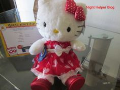 """Happy Valentine's Day from Build- A- Bear """"Hello Kitty"""" giveaway!!"""